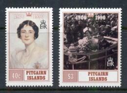 Pitcairn Is 1990 Queen Mother 90th Birthday MUH - Pitcairn Islands
