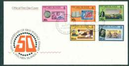Pitcairn Is 1990 Stamp Anniv. FDC Lot45803 - Pitcairn Islands