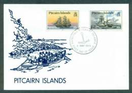 Pitcairn Is 1990 Visiting Ships 20c, 90c (1990) FDC Lot45752 - Pitcairn Islands