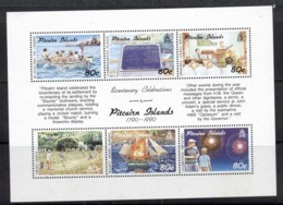Pitcairn Is 1991 Bicentenary Celebrations MS MUH - Pitcairn Islands