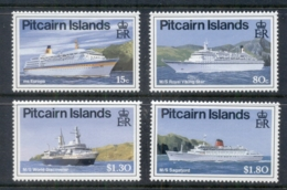 Pitcairn Is 1991 Cruise Ships MUH - Pitcairn Islands