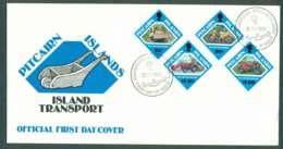Pitcairn Is 1991 Island Transport FDC Lot45785 - Pitcairn Islands