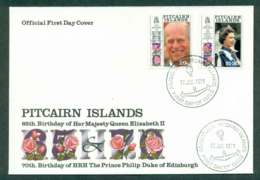 Pitcairn Is 1991 QEII 60th Birthday FDC Lot45774 - Pitcairn Islands