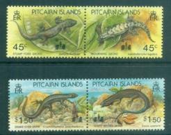 Pitcairn Is 1993 Lizards, Opt Hong Kong '94 MUH - Pitcairn Islands