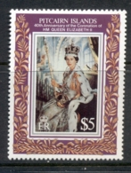 Pitcairn Is 1993 QEII Coronation 40th Anniv MUH - Pitcairn Islands