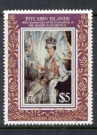 Pitcairn Is 1993 QEII Coronation 40th Anniv. MUH - Pitcairn Islands