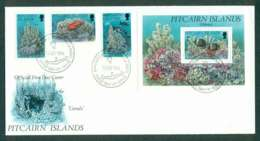 Pitcairn Is 1994 Corals FDC Lot45793 - Pitcairn Islands