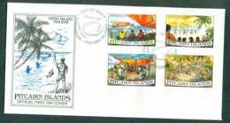 Pitcairn Is 1995 Oeno Island Holiday FDC Lot45763 - Pitcairn Islands