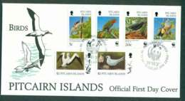 Pitcairn Is 1996 Birds FDC Lot45795 - Pitcairn Islands