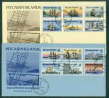 Pitcairn Is 1996 Visiting Ships 2x FDC Lot45781 - Pitcairn Islands