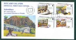 Pitcairn Is 1999 Schooldays FDC Lot45753 - Pitcairn Islands