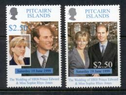 Pitcairn Is 1999 Royal Wedding Edward & Sophie MUH - Pitcairn Islands