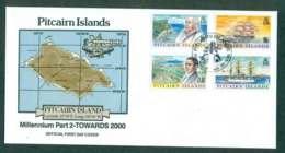 Pitcairn Is 1999 Towards 2000 Pt 2 FDC Lot45755 - Pitcairn Islands