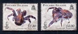 Pitcairn Is 2009 Coconut Crabs MUH - Pitcairn Islands