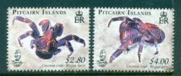 Pitcairn Is 2009 Coconut Crabs MUH Lot66590 - Pitcairn Islands
