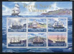 Pitcairn Is 2009 Royal Navy Ships MS MUH - Pitcairn Islands