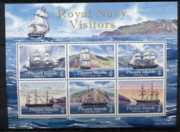 Pitcairn Is 2010 Royal Navy Visitors, Ships MS MUH - Pitcairn Islands
