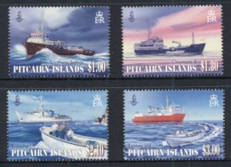 Pitcairn Is 2011 Supply Ships MUH - Pitcairn Islands