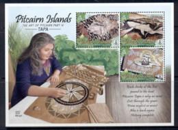 Pitcairn Is 2012 Art Of Pitcairn, Tapa MS MUH - Pitcairn Islands