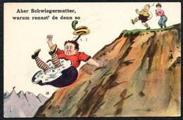 2334 - Scherzkarte Humor - WSSB Künstlerkarte - Schwiegermutter - Humour