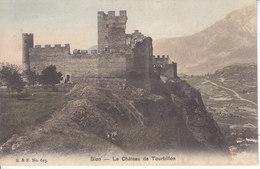SION - LE CHATEAU DE TOURBILLON - 1907 - VS Valais