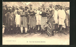 CPA Bamako, Tam-Tam Soudanais, Afrikanische Volkstypen - Cartes Postales