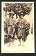 AK Bolivien, Deux Alcades, Chefs Indiens, Indianer - Bolivia