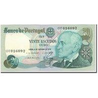 Billet, Portugal, 20 Escudos, 1978-10-04, KM:176b, NEUF - Portugal