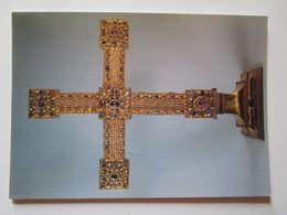 Deutsch, Um 1025-1030. Reichskreuz. Kunsthistorisches Museum Wien, 1992/8042 - Belle-Arti