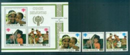 Cook Is 1979 IYC + MS MUH Lot81318 - Cook Islands