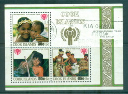 Cook Is 1979 IYC Intl. Year Of The Child MS FU Lot71990 - Cook Islands