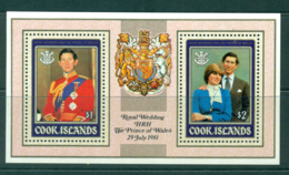 Cook Is 1981 Charles & Diana MS MUH Lot30015 - Cook Islands