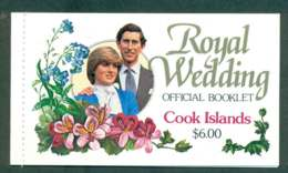Cook Is 1981 Charles & Diana Wedding Booklet Lot45334 - Cook Islands