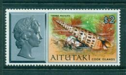 Aitutaki 1974 Shell $2 MUH Lot30971 - Aitutaki
