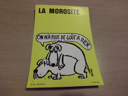 BELLE ILLUSTRATION ..AUTO-COLLANT DORCHY...LA MOROSITE...SIGNE REISER ... - Humour