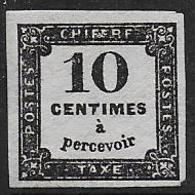 France - Taxe N° 2 * - Cote :  60 € - Taxes