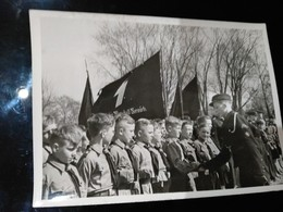 FOTO TREUEGELOBNIS DER JUNGSTEN GEFOLGSCHAFT DES FUHRERS 1942   FOTO DE PRESSE Brian L Davis Archive - Movimiento Scout