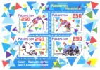2015. Kazakhstan, Winter Paralympic Games Sochi, S/s, Mint/** - Inverno 2014: Sotchi