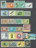 GHANA - 1965 - MNH/** - YEAR 1965 SET COMPLETE - Yv BLOC 14-18 181-228 - Lot 17898 - Ghana (1957-...)