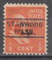 USA Precancel Vorausentwertung Preo, Locals Washington, Stanwood 729 - Vereinigte Staaten