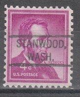 USA Precancel Vorausentwertung Preo, Locals Washington, Stanwood 804 - Vereinigte Staaten