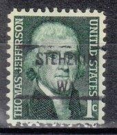 USA Precancel Vorausentwertung Preo, Locals Washington, Stehekin 841 - Vereinigte Staaten