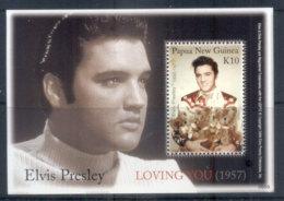 PNG 2006 Elvis Presley MS MUH - Papua New Guinea