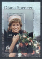 PNG 2007 Princess Diana In Memoriam 10th Anniv. MS MUH - Papua New Guinea
