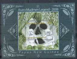 PNG 2008 Asaro Mudmen MS MUH - Papua New Guinea