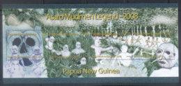 PNG 2008 Asaro Mudmen Sheetlet MUH - Papua New Guinea