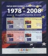 PNG 2008 European Union Sheetlet Muh - Papua New Guinea