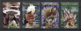 PNG 2008 Headresses MUH - Papua New Guinea
