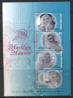 PNG 2008 Marilyn Monroe Sheetlet MUH - Papua New Guinea