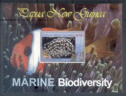 PNG 2008 Marine Life Biodiversity MS MUH - Papua New Guinea